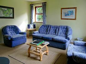 Komfortable Möblierung