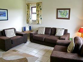 Typisches Wohnzimmer